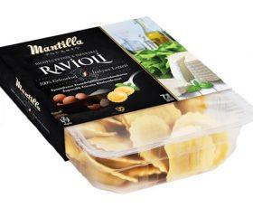 Ispanak ve Peynir Ravioli