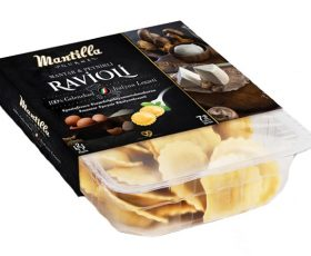 Mantar ve Peynirli Ravioli