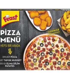 Feast Pizza Menü